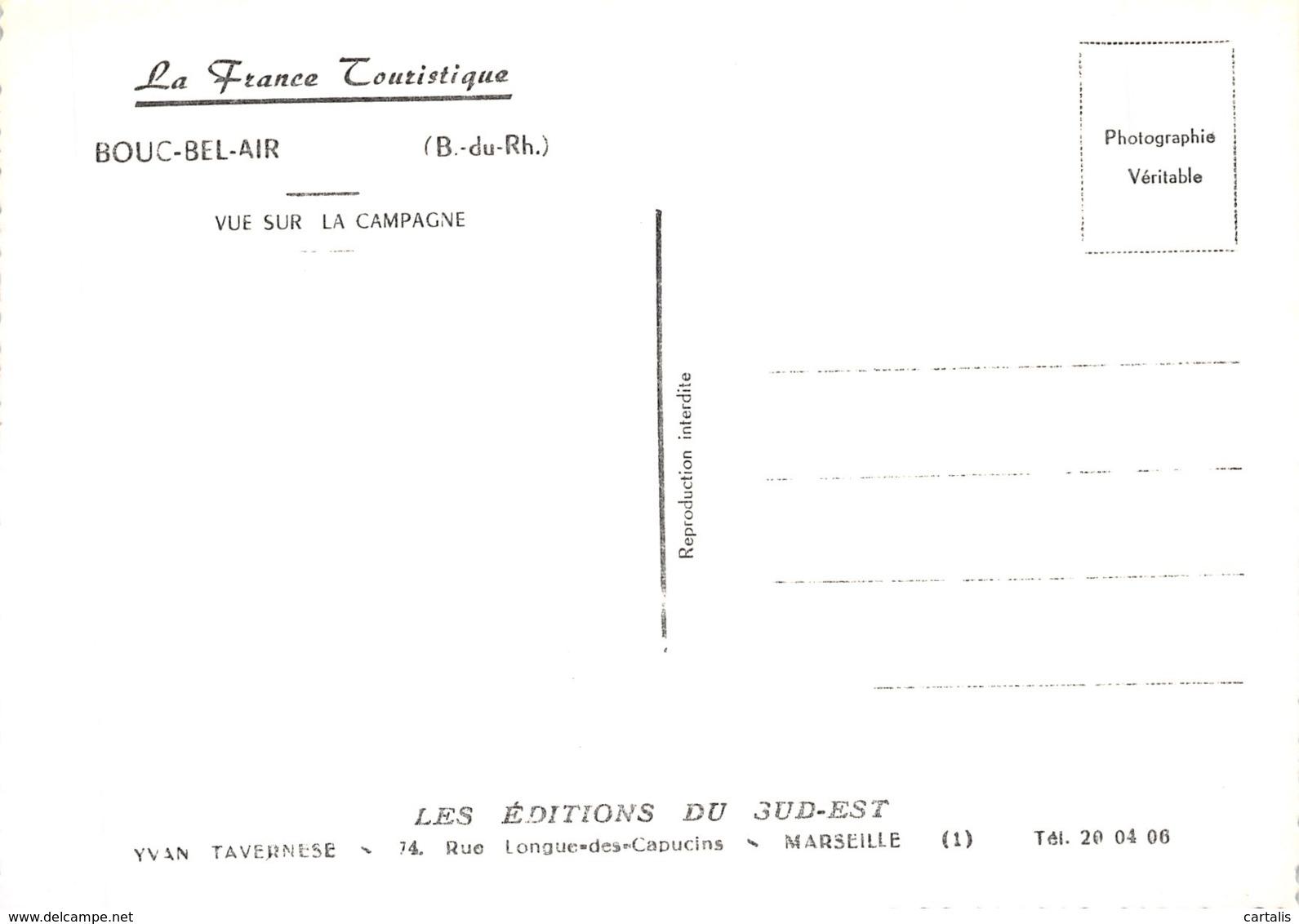 13-BOUC BEL AIR-N°C-4355-C/0071 - France