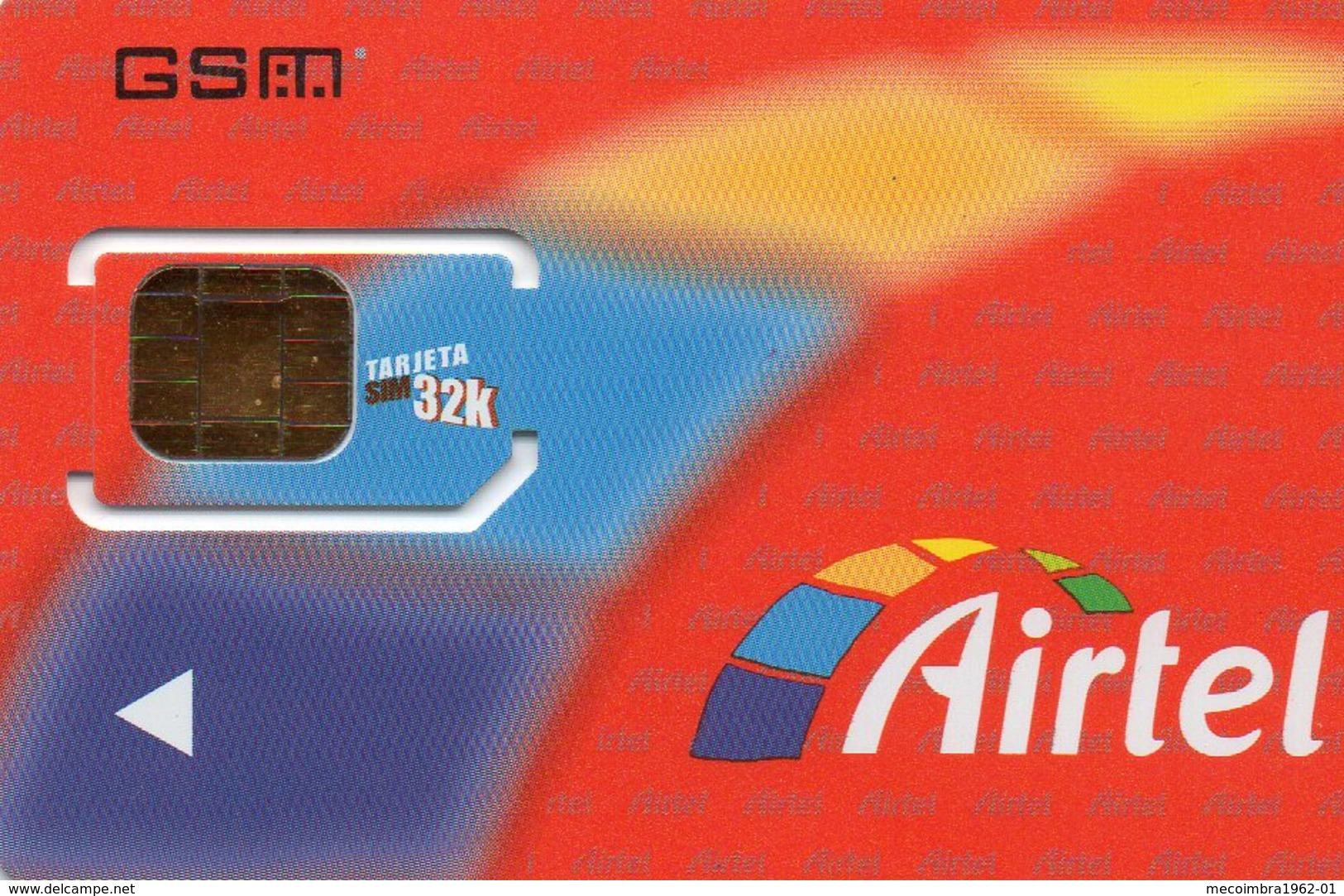 Carte De Téléphone Portable Sim - Airtel - Espagne - Airtel