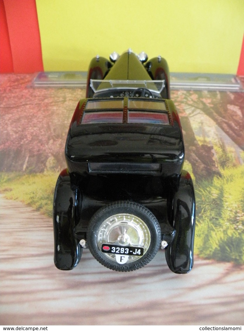 Bugatti Royale 1930 Type 41 - Métal Neuf - 1/21 - Sans Boite - Solido - - Solido