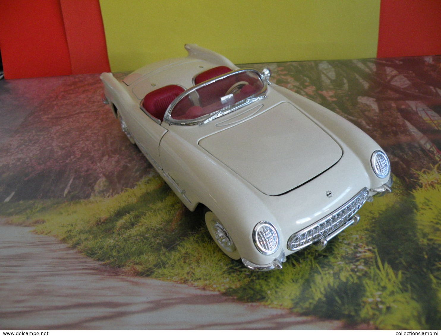 Chevrolet Corvette 1953 - Métal Neuf - 1/18 - Sans Boite - Solido - - Solido