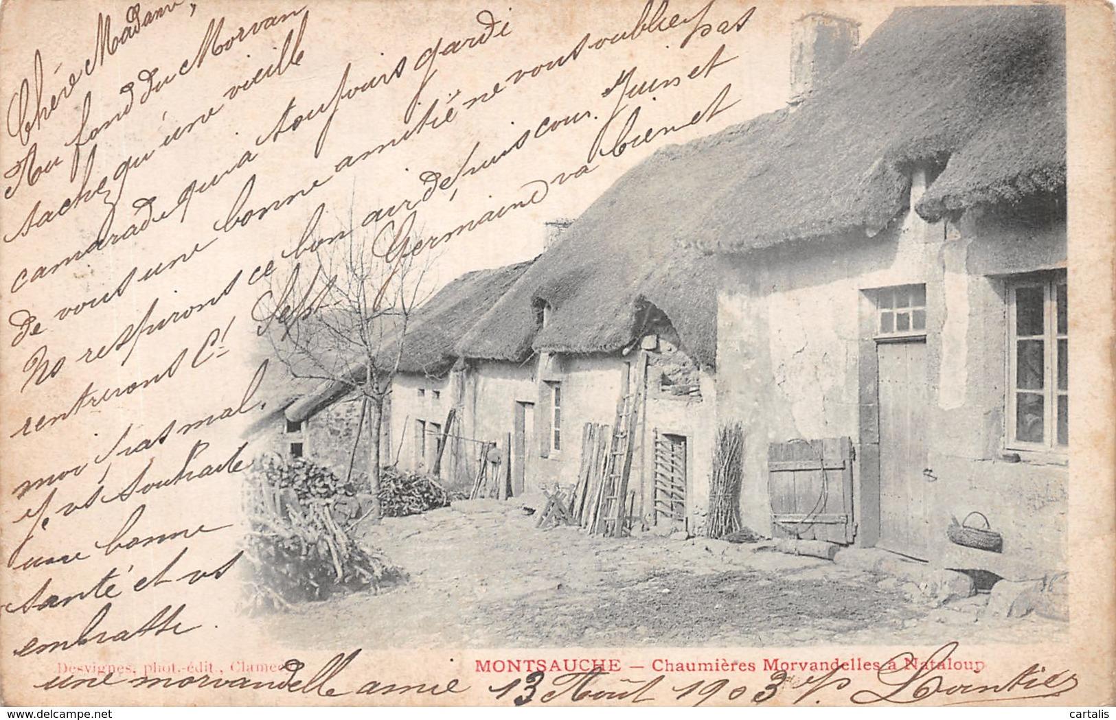 58-MONTSAUCHE-N°C-4371-E/0245 - Montsauche Les Settons