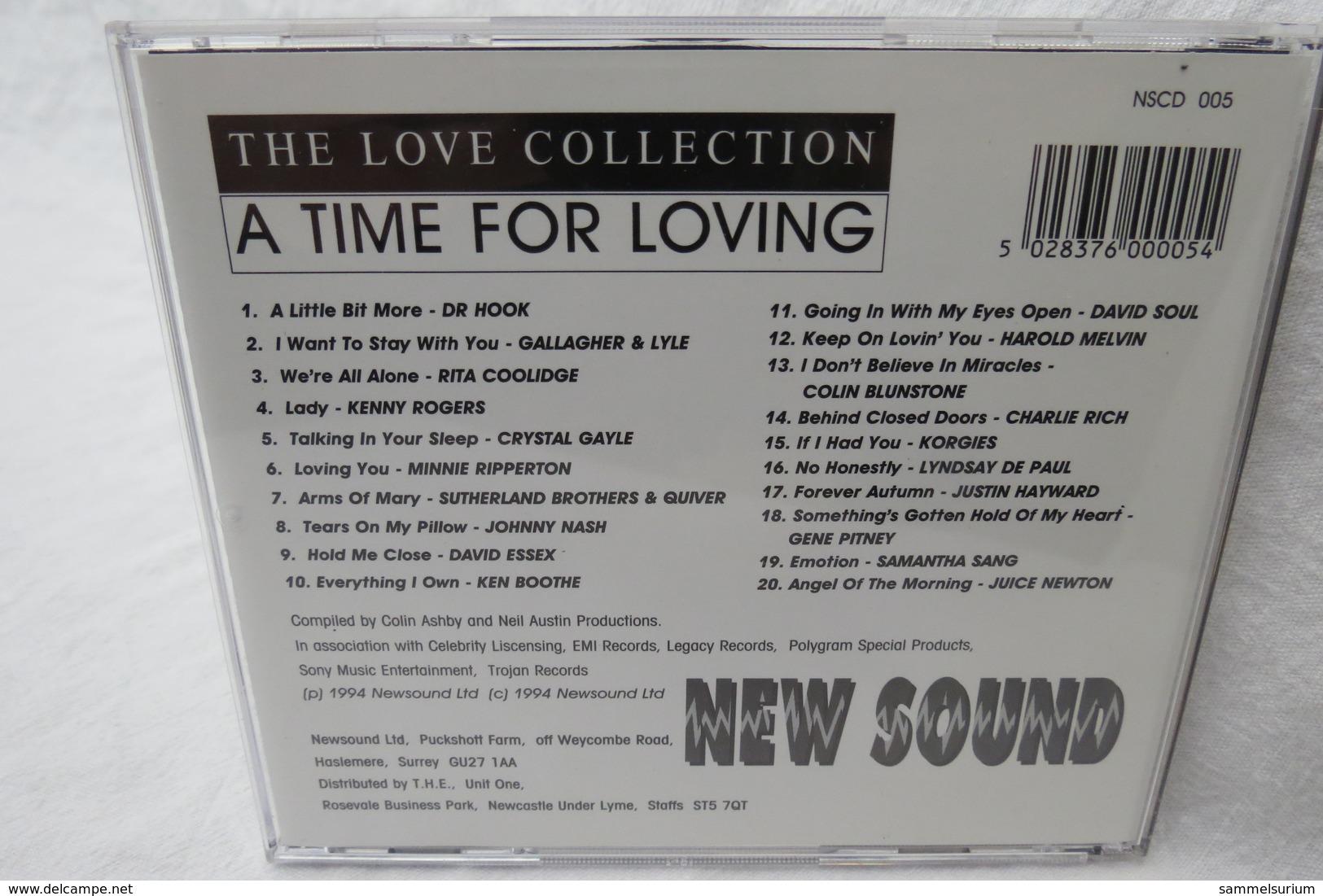 "CD ""A Time For Loving"" 20 Great Tracks Mit Original Artists Aus Der Love Collection Vol. 1 - Musik & Instrumente"