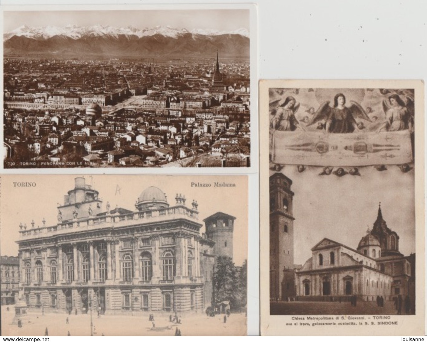 18/10/144  -  LOT  DE  6  CPA  &  1  CPSM  DE  TORINO   - Toutes Scanées - 5 - 99 Postcards