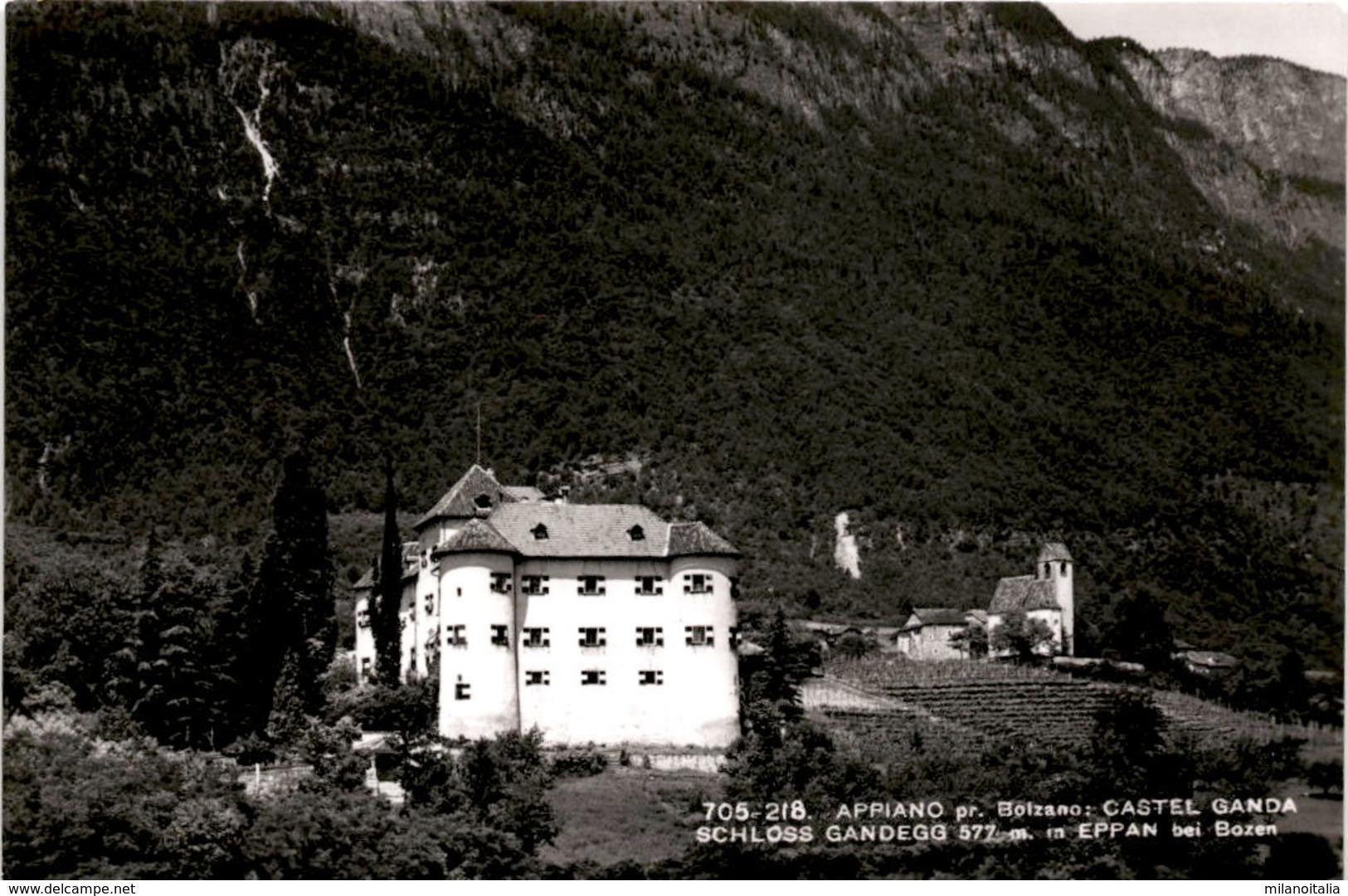 Eppan Bei Bozen - Schloss Gandegg (705-218) - Bolzano (Bozen)