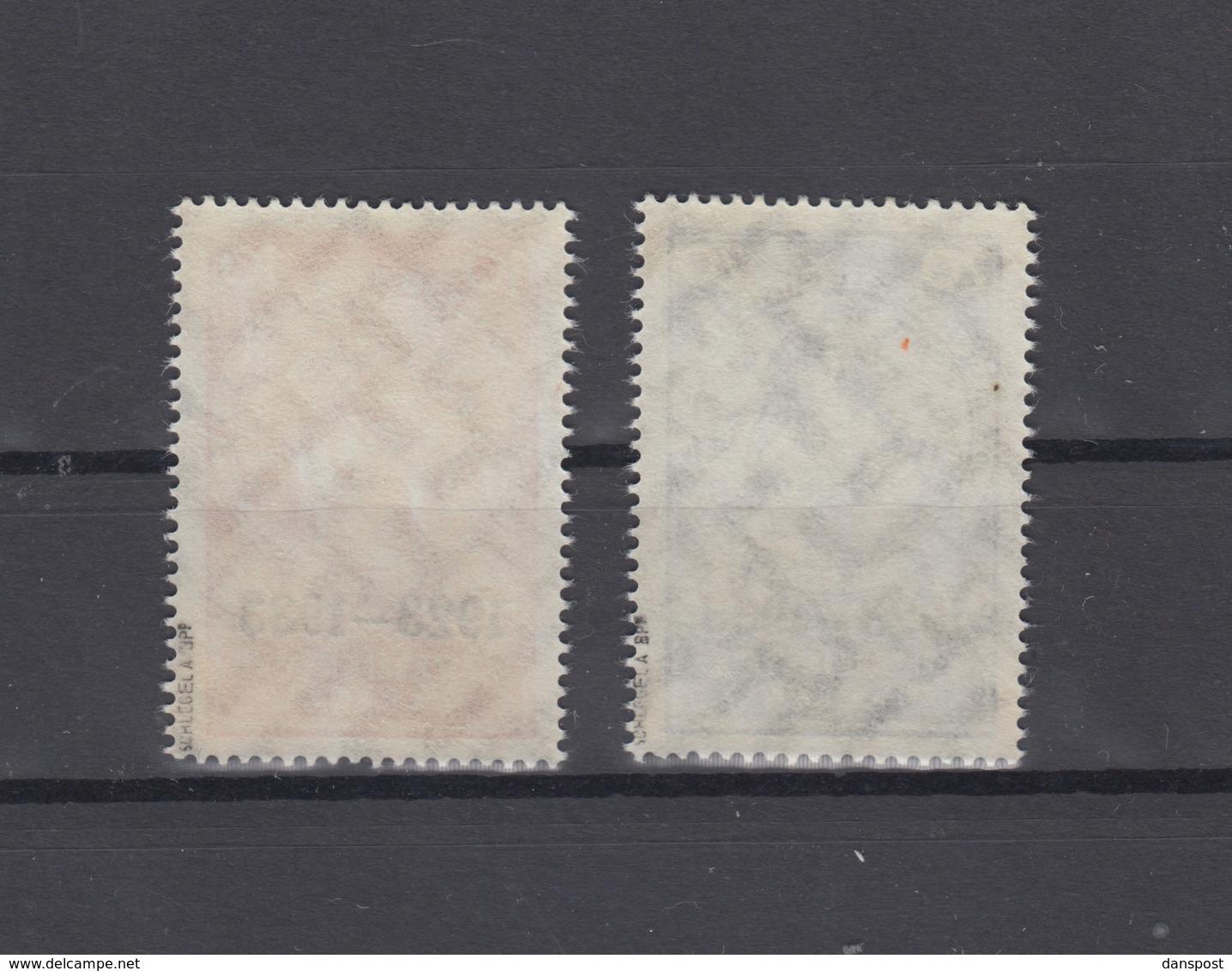 Dt. Reich Mi. 509-510 Postfrisch Geprüft - Ungebraucht