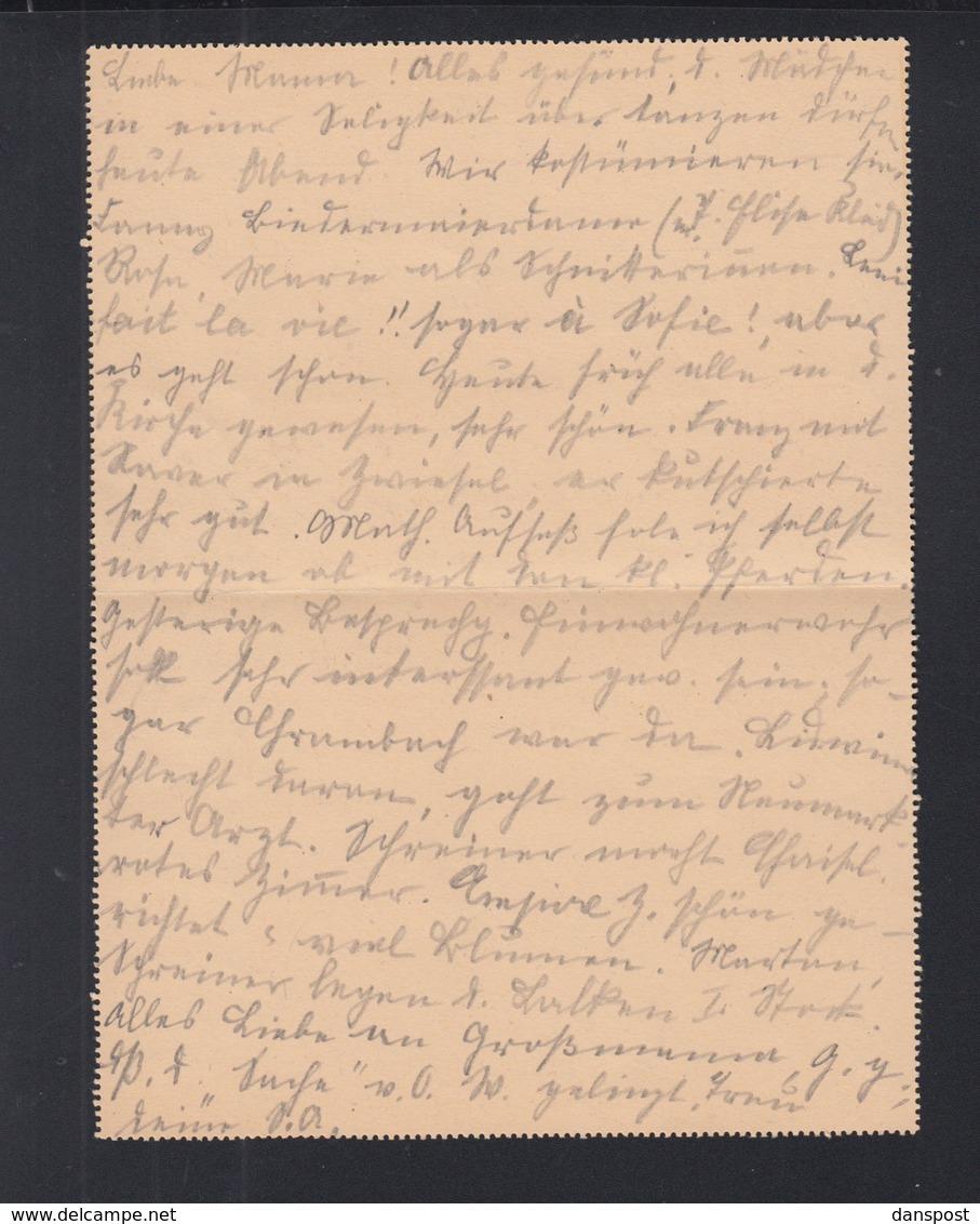 Dt. Reich Kartenbrief 1922 Frauenau Nach München - Deutschland