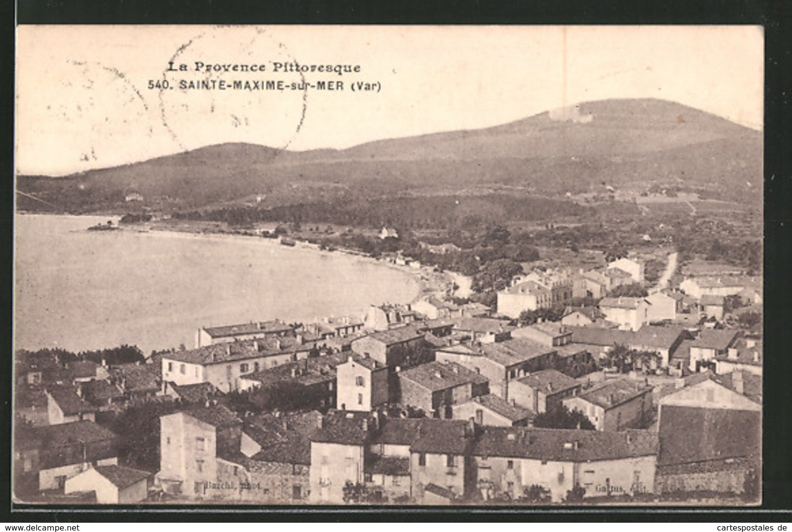 CPA Sainte-Maxime, Vue Panoramique - Sainte-Maxime