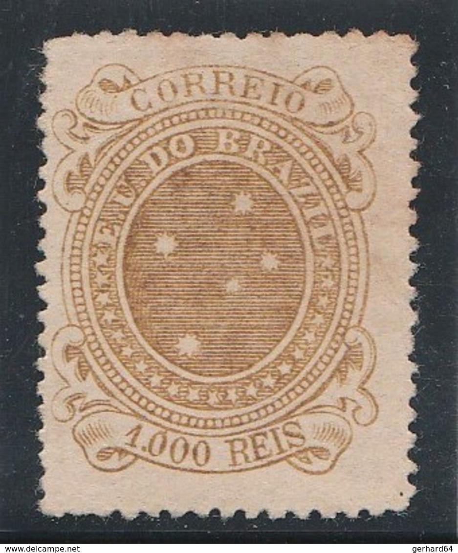 BRESIL 1892 - Yvert N° 75 - Neuf Sans Gomme (1000 Reis) - Brésil