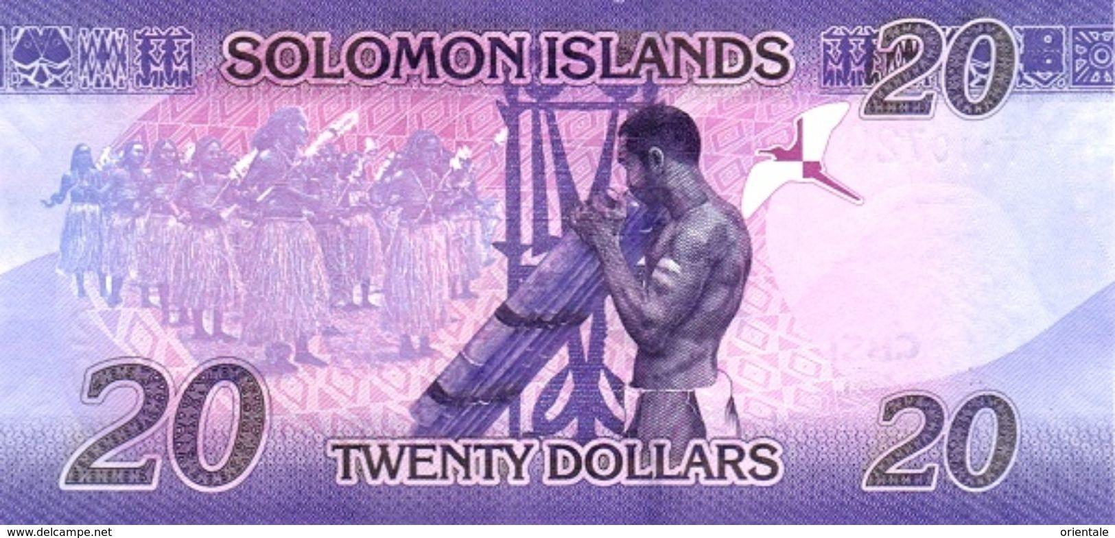 SOLOMON ISLANDS P. 34 20 D 2017 UNC - Salomons