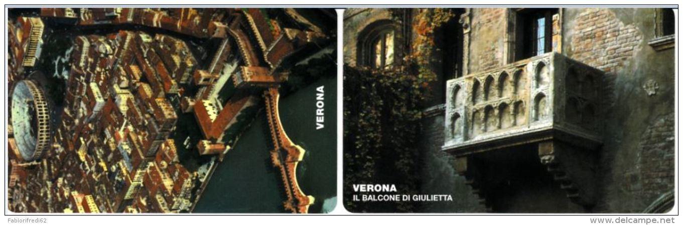 SERIE SCHEDE TELEFONICHE NUOVE RSM 45-46 VERONAFIL - San Marino