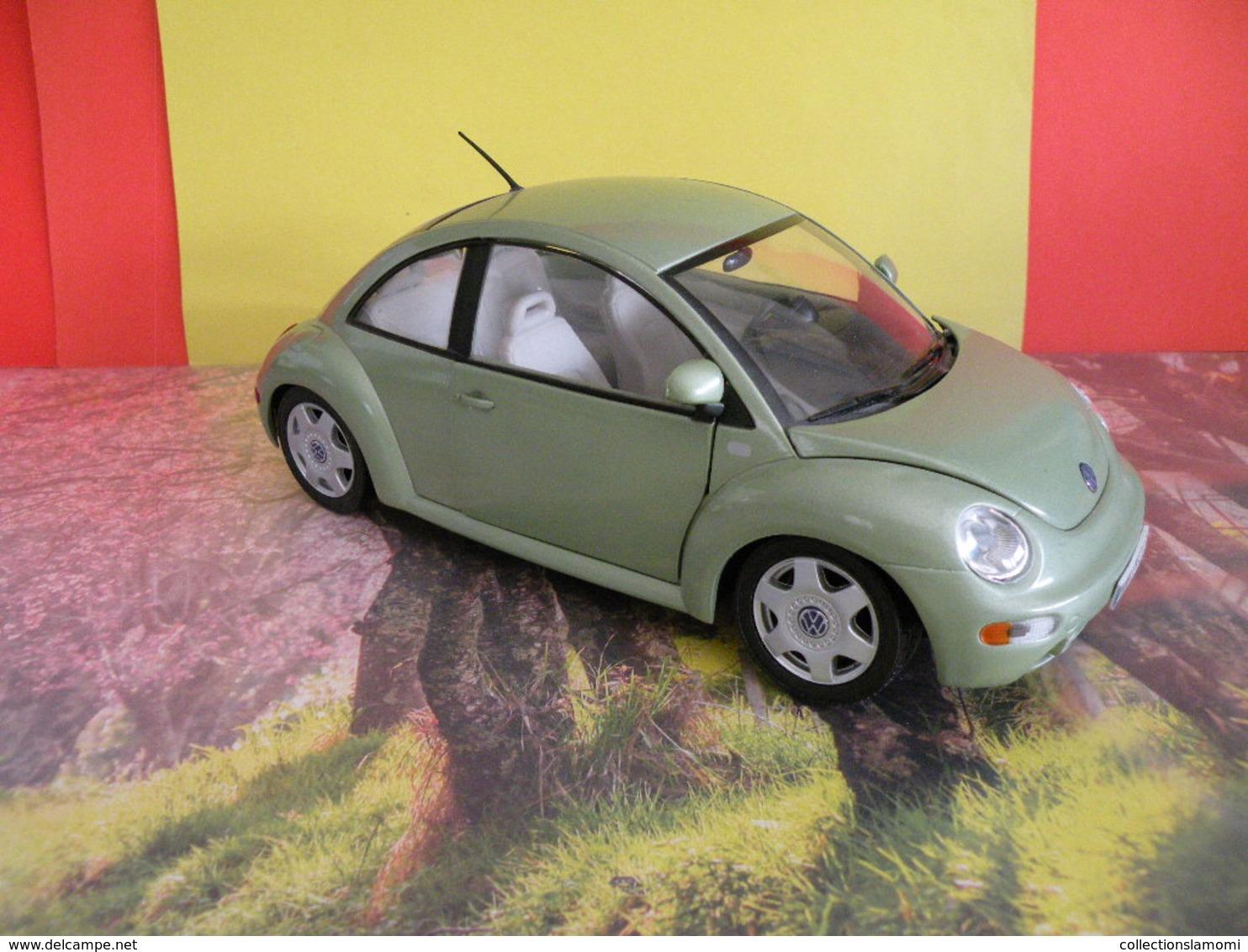 Volswagen New Beetle 1999 - Métal Neuf - 1/18 - Sans Boite - Solido - - Solido