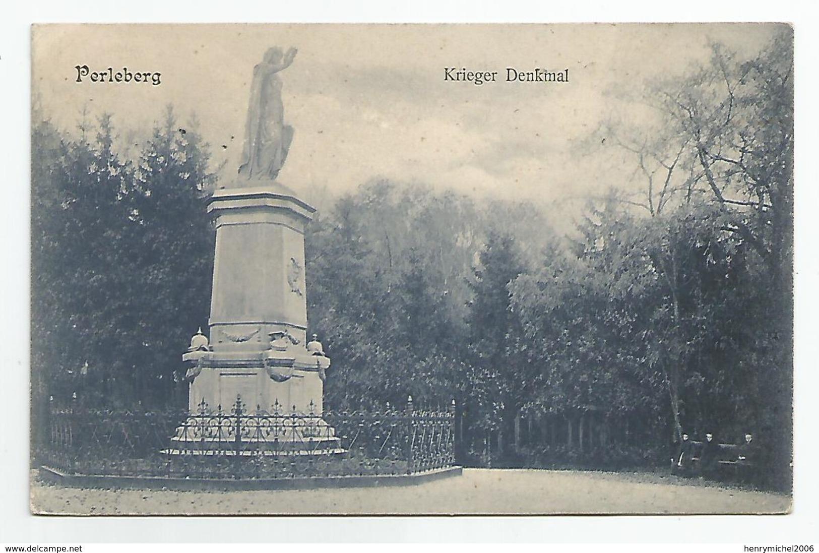Allemagne Germany - Perleberg Krieger Denkmal - Perleberg