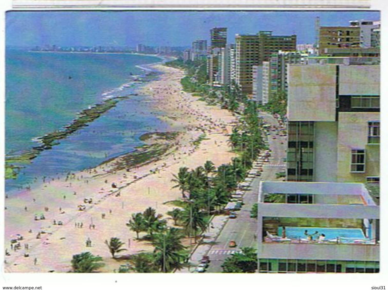 BRESIL RECIFE 1995 PRAIA DE BOA - Recife