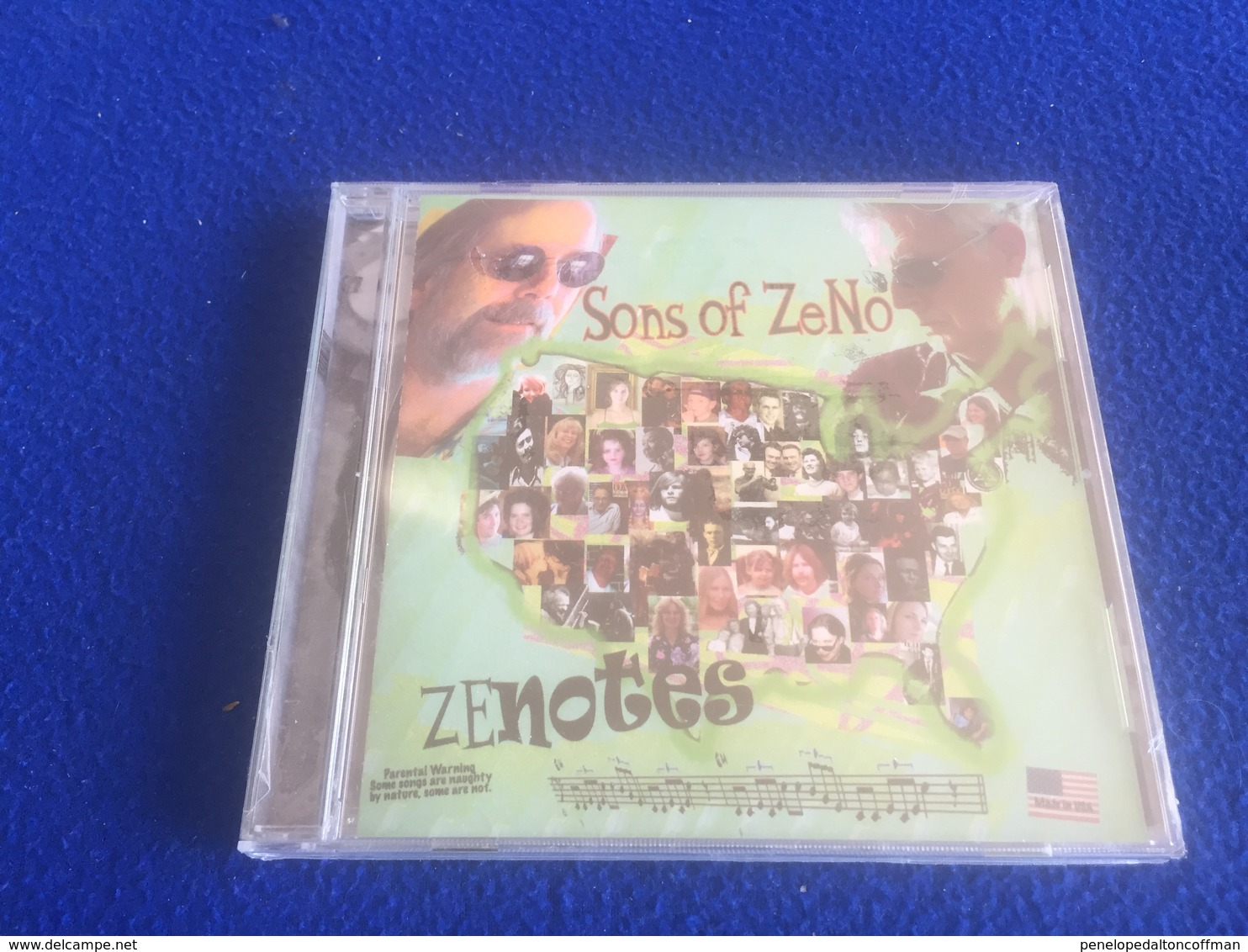 """Sons Of Ze- """"Zenotes"""" - Country & Folk"""
