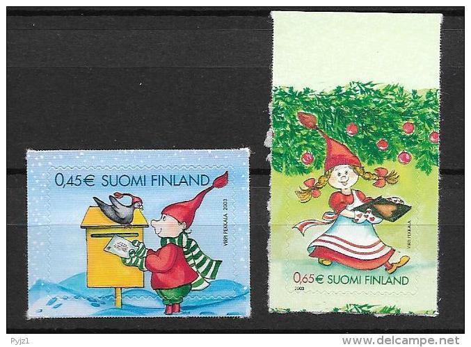 2003 MNH Finland, Postfris** - Ungebraucht