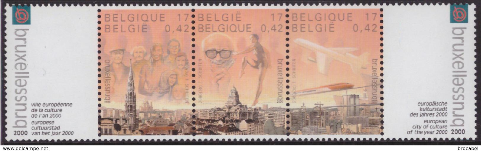 Belgium 2882/84** Bruxelles  MNH - Nuovi