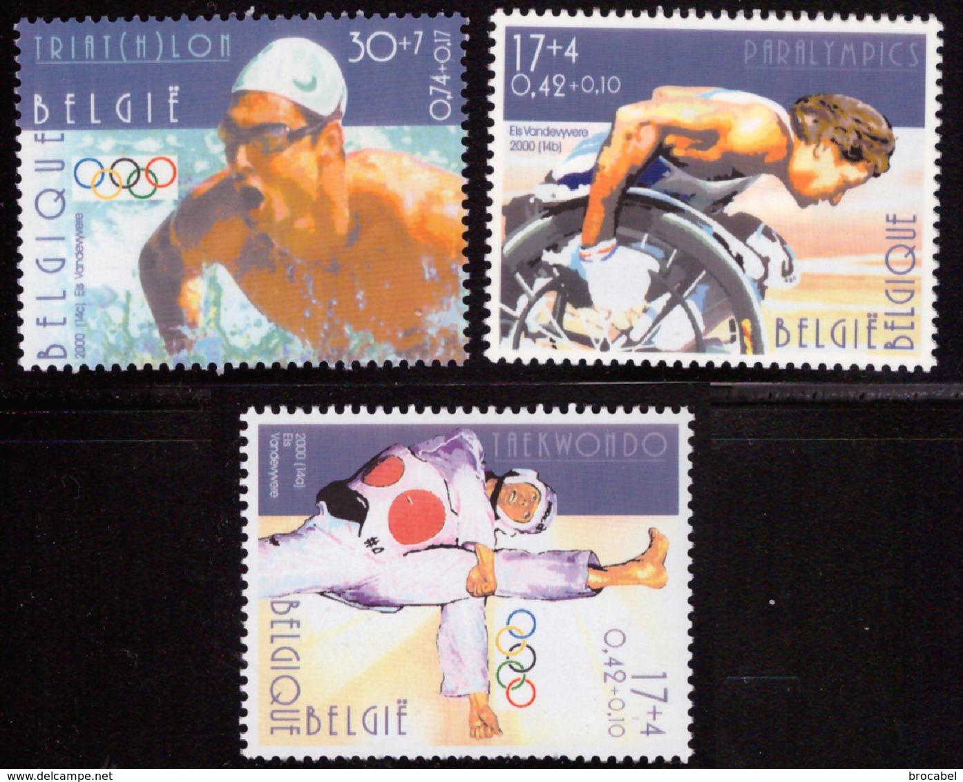 Belgium 2908/11** Sport Jeux Olympiques MNH - Nuevos