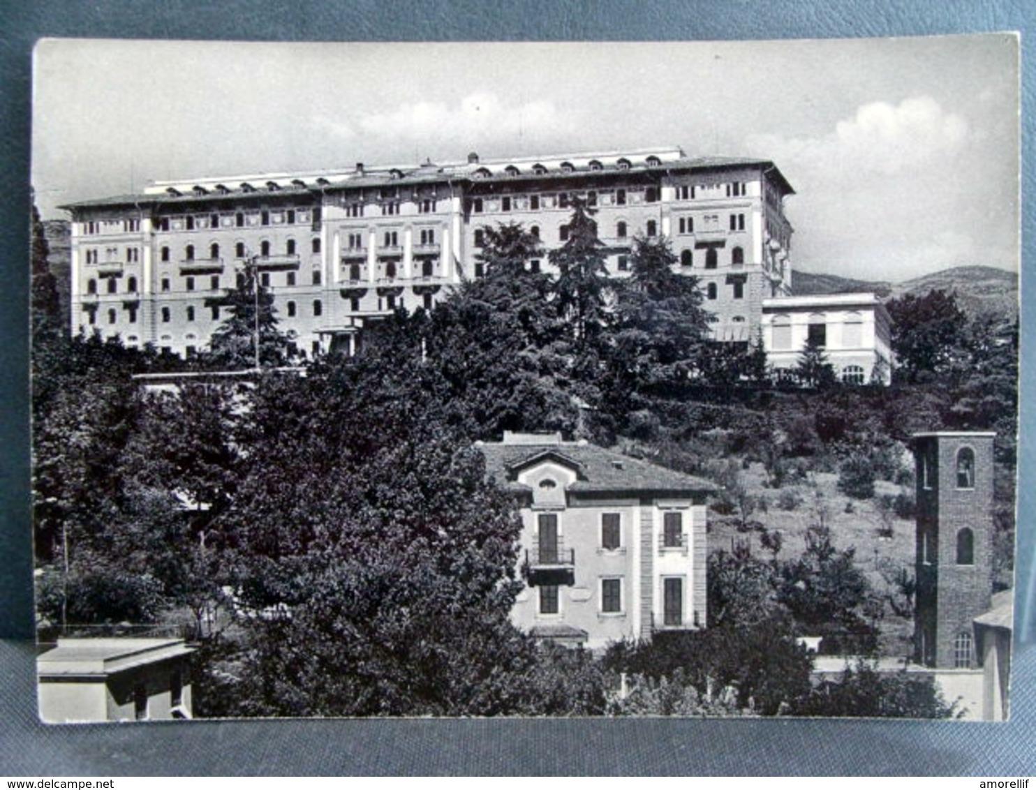 (FG.I26) FIUGGI FONTE - PALAZZO DELLA FONTE (FROSINONE) Viaggiata 1955 - Frosinone