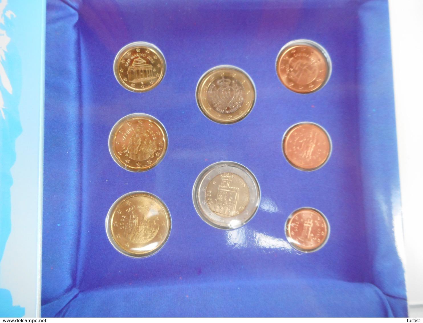 COMPLEET EUROSET 2002 SAN MARINO - San Marino