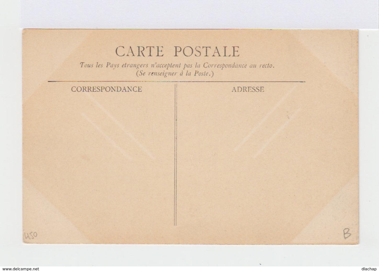 L'Auvergne Pittoresque. Combronde. La Croix Et Le Tonneau. Chien Et Personnages. (3116) - Combronde