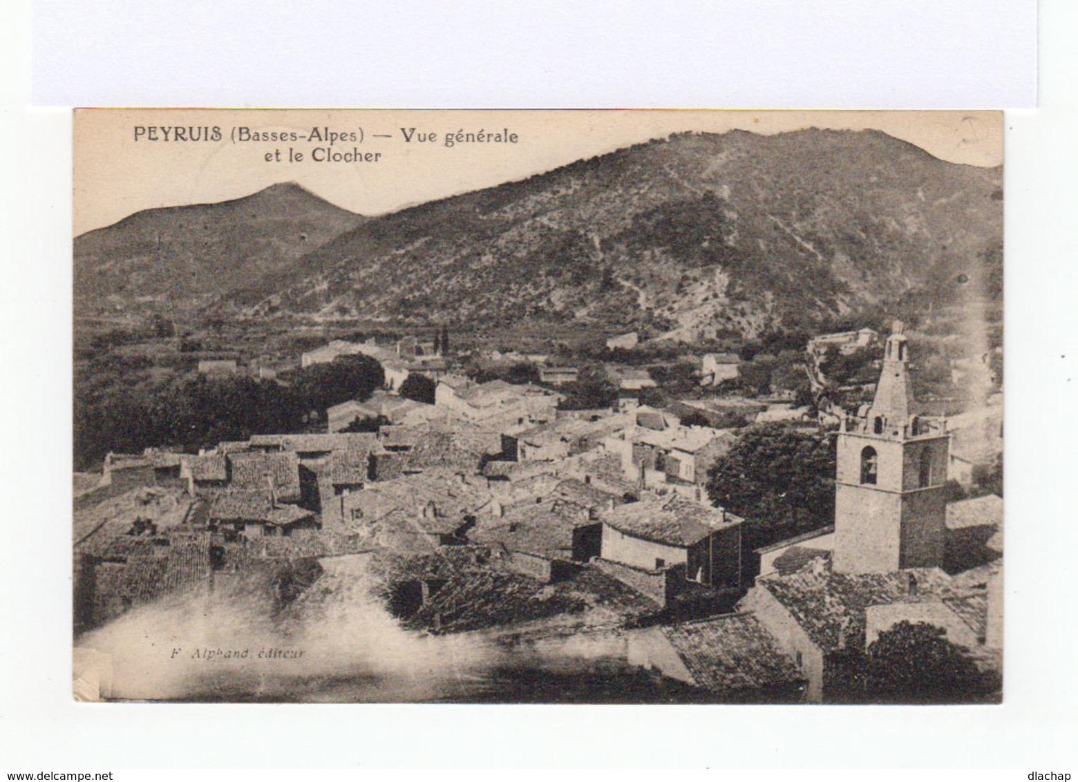 Peyruis. Vue Générale Et Clocher. (3119) - France