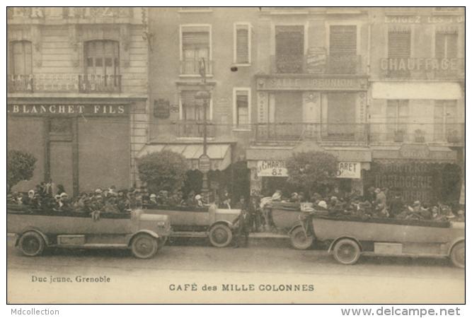 38 GRENOBLE  / Café Des Mille Colonnes / Automobiles / - Grenoble