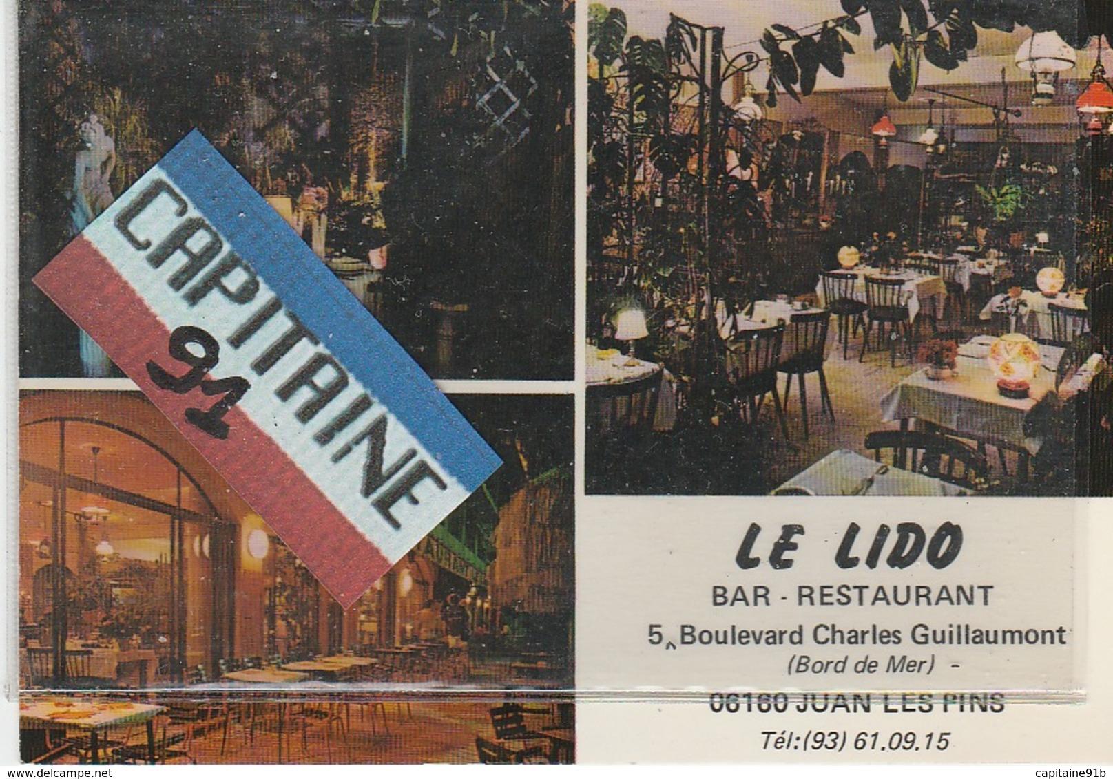 CPSM  JUAN LES PINS ALPES MARITIMES LE LIDO BAR RESTAURANT - Francia