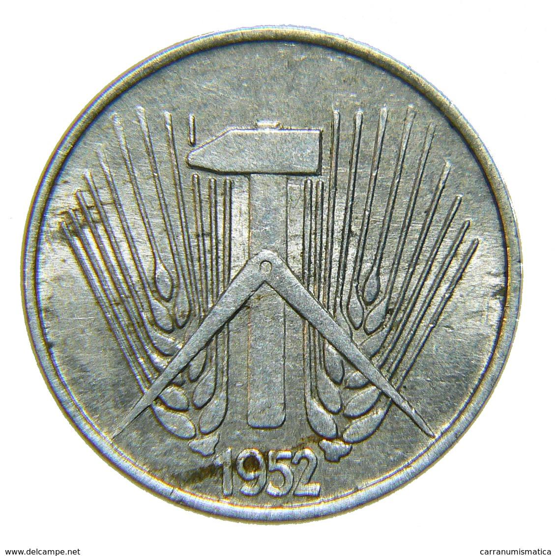 [NC] GERMANIA DDR - 1 PFENNIG 1952 A - [ 6] 1949-1990 : RDA - Rep. Dem. Tedesca