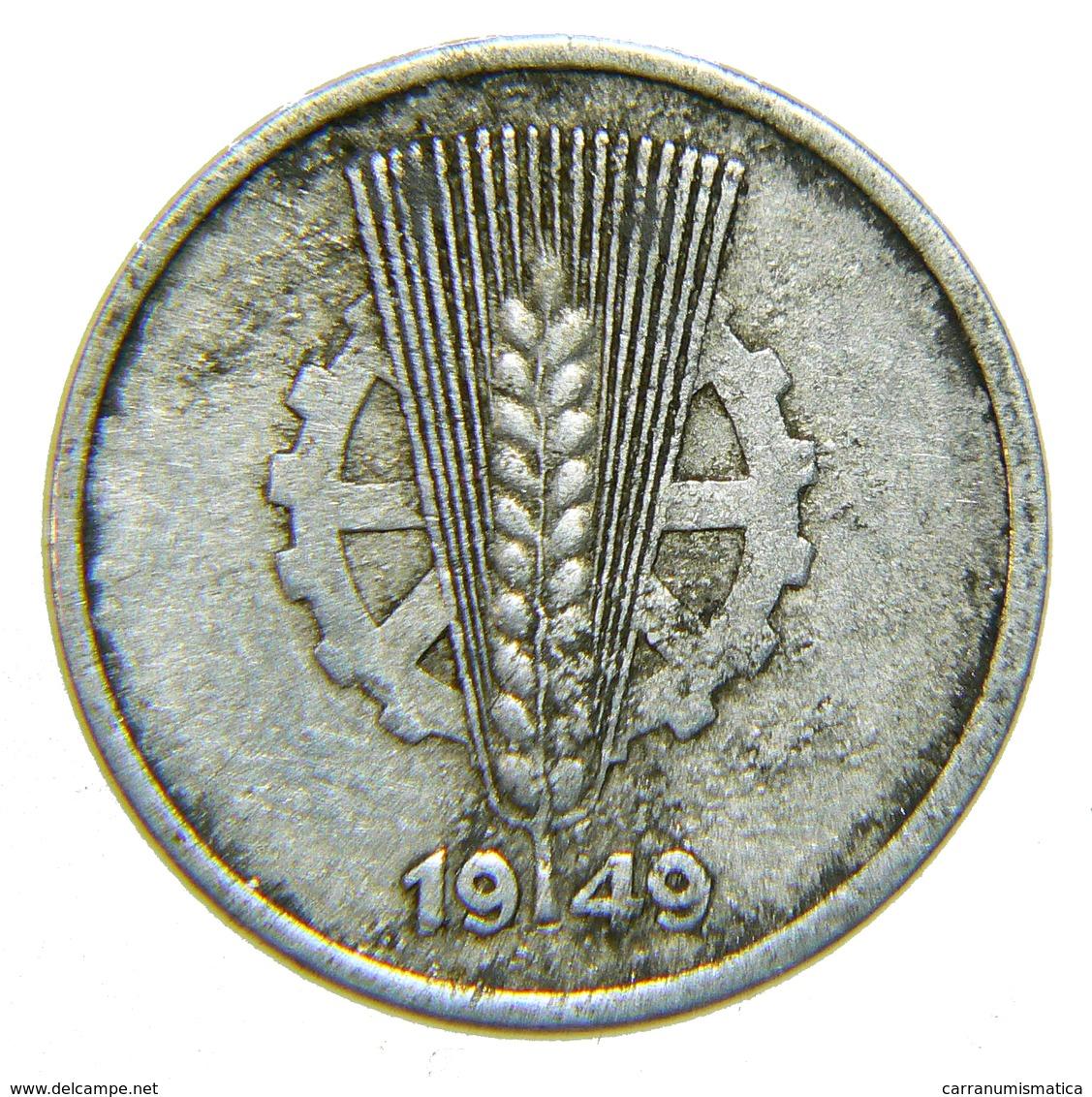 [NC] GERMANIA DDR - 5 PFENNIG 1949 A - [ 6] 1949-1990 : RDA - Rep. Dem. Tedesca