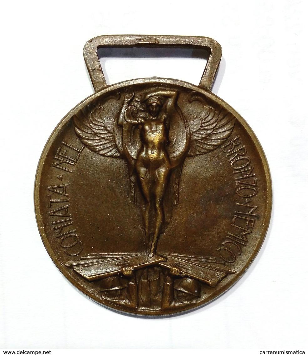 WWI - MEDAGLIA - GUERRA ITALO - AUSTRIACA (1915-1918) Bronzo Nemico - Italia