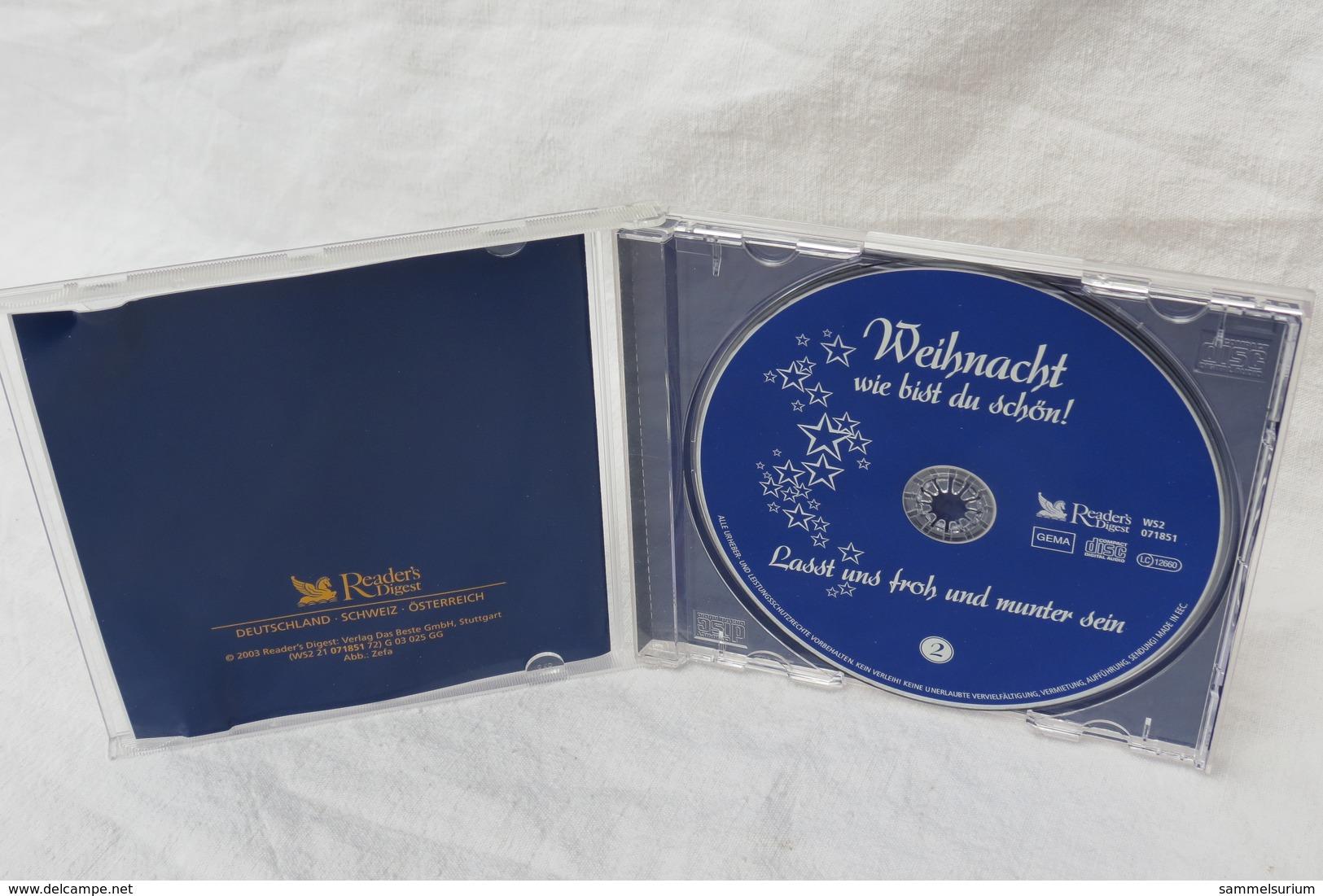 """CD """"Weihnacht, Wie Bist Du Schön!"""" Beliebte Stars Feiern Die Heilige Nacht, CD 2 - Weihnachtslieder"""