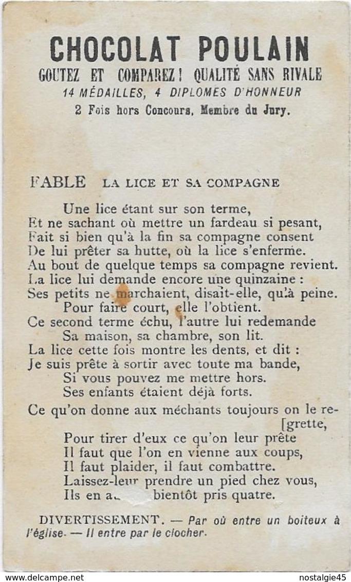 Chromo H.Laas 606 Fond Or - Du Haut En Bas ,- Le Petit Ramoneur - Poulain