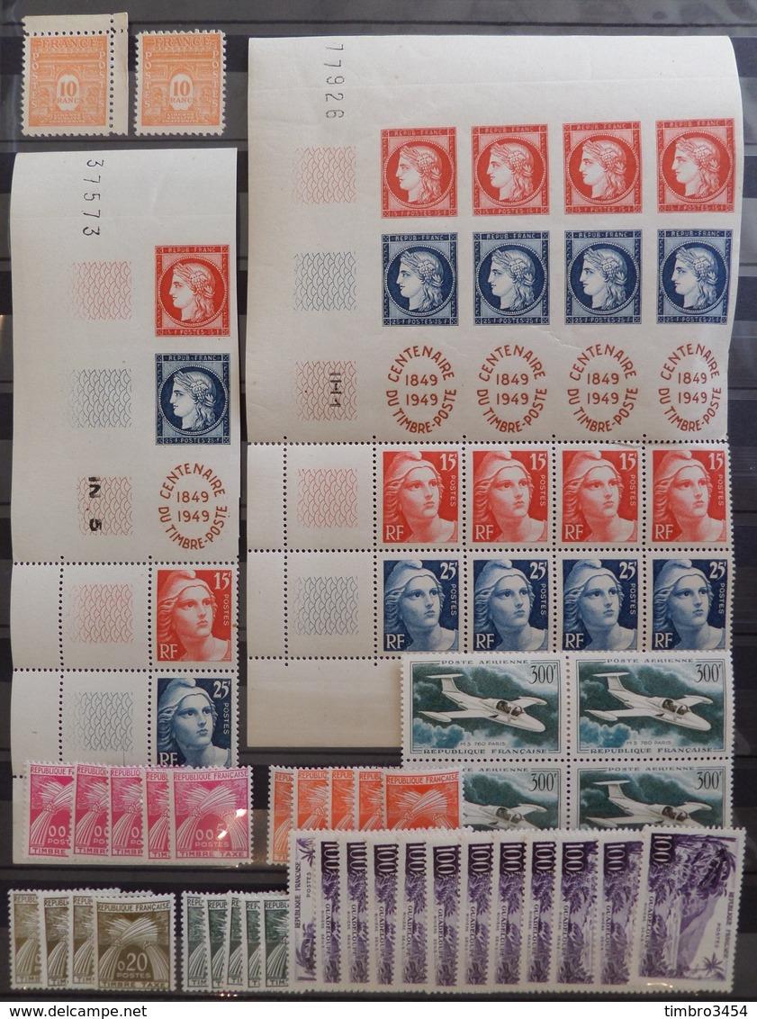 France Belle Collection Neufs ** MNH 1943/1959. Bonnes Valeurs. TB. A Saisir! - France