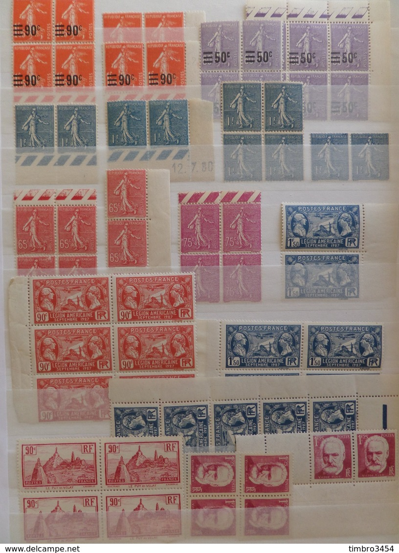 France Très Belle Collection Neufs ** MNH 1900/1940. Nombreuses Bonnes Valeurs. TB. A Saisir! - Frankreich