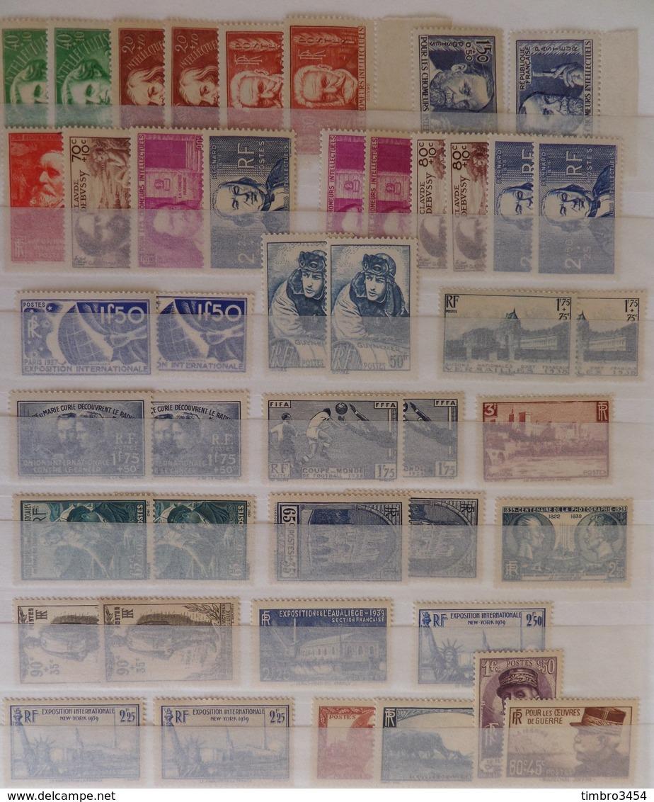 France Très Belle Collection Neufs ** MNH 1900/1940. Nombreuses Bonnes Valeurs. TB. A Saisir! - France