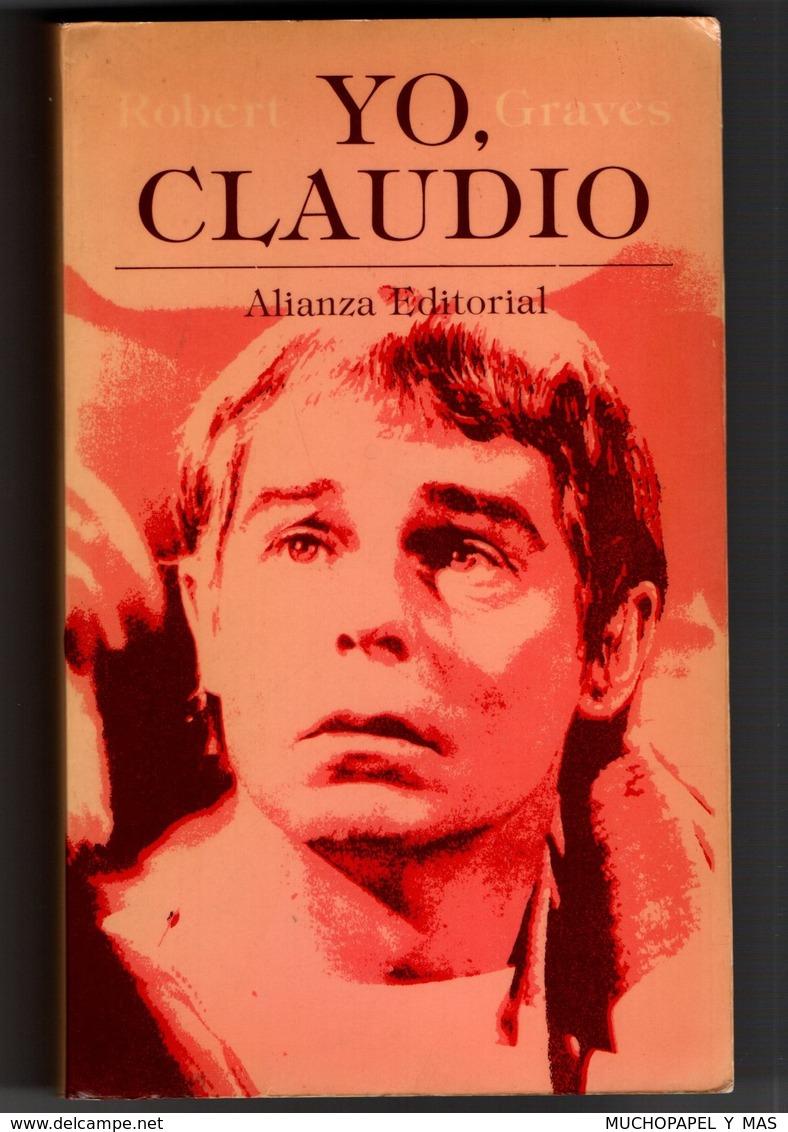 ANTIGUO LIBRO EDICIÓN DE 1979 YO, CLAUDIO ALIANZA EDITORIAL ROBERT GRAVES 510 PÁGINAS CAJA BARCELONA.IDIOMA: ESPAÑOL VER - Books, Magazines, Comics