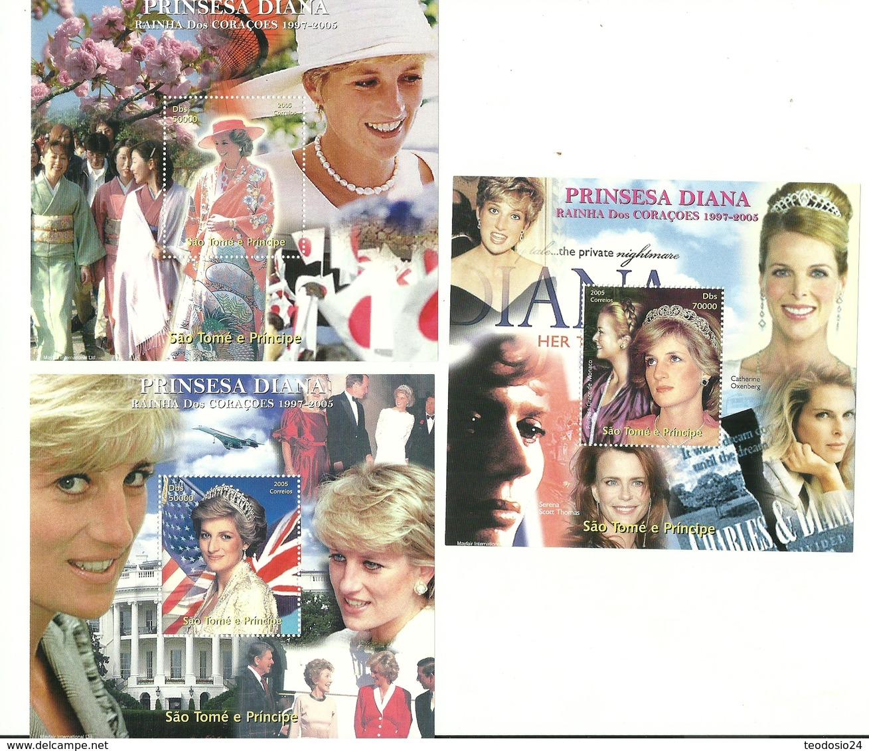 SANTO TOME Y PRINCIPE  2005   LADY DIANA ** MNH - Königshäuser, Adel