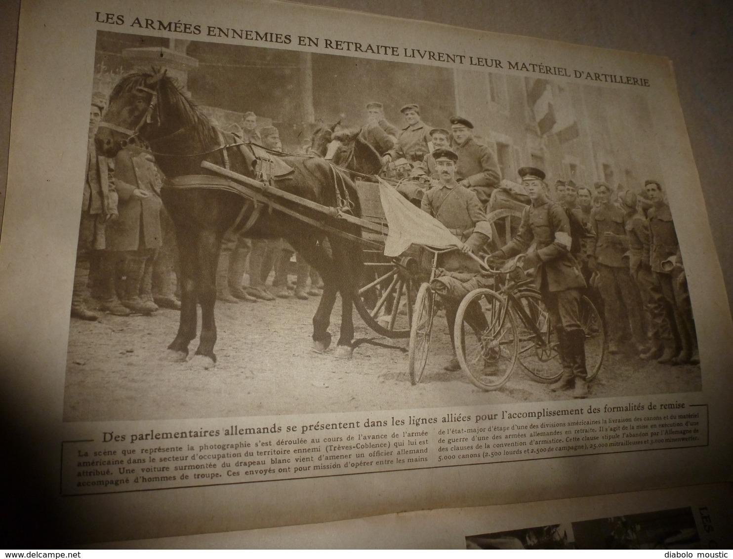 1918 LE MIROIR: Deux Grandes Figures De La Résistance Belge; Etc - Riviste & Giornali