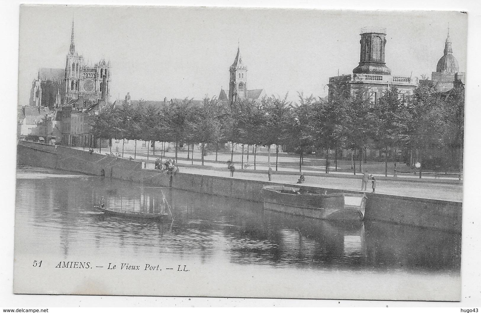 AMIENS - N° 51 - LE VIEUX PORT - CPA NON VOYAGEE - Amiens