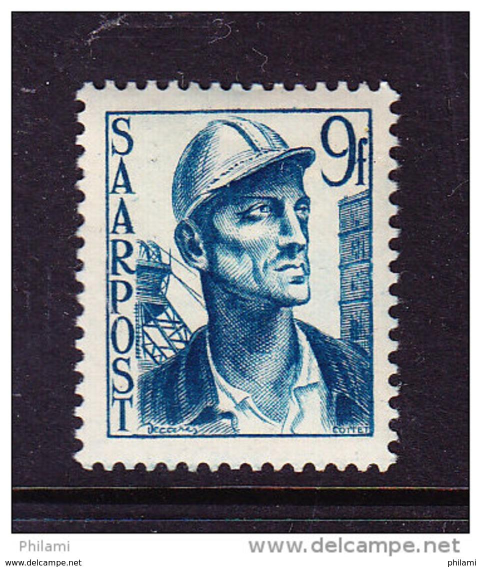 SARRE MI 247, YT 239 ** MNH. (4D136) - 1947-56 Occupation Alliée