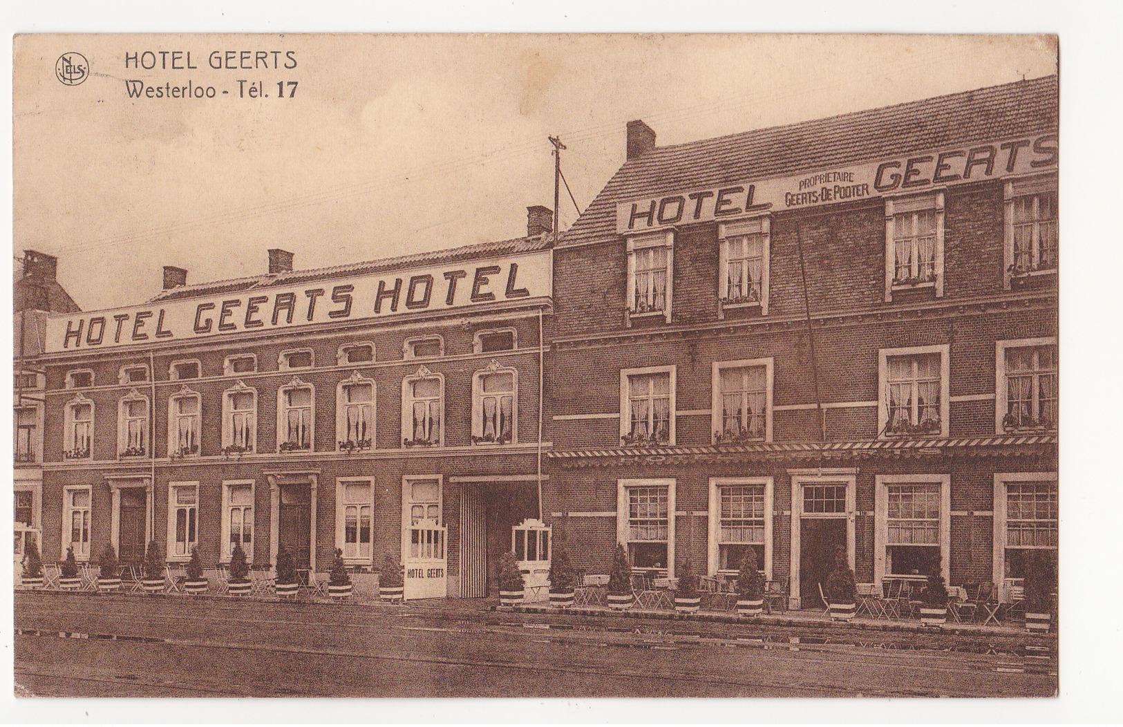 Westerlo: Hotel Geerts. - Westerlo