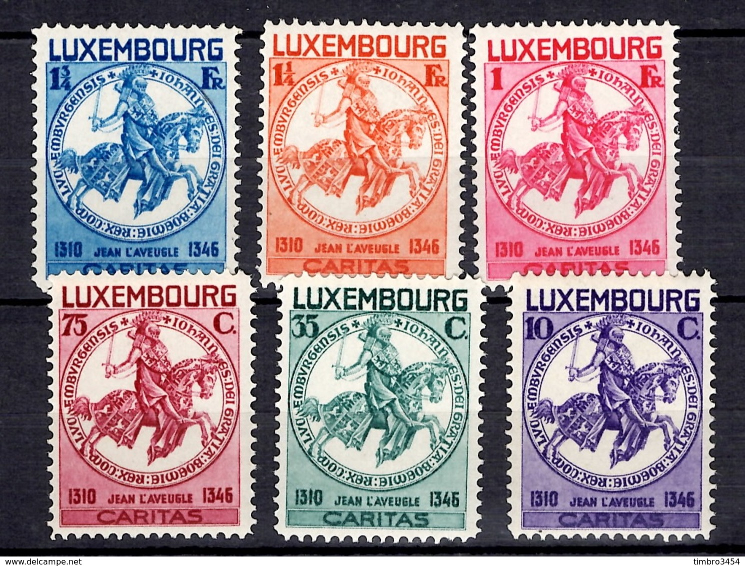 Luxembourg YT N° 252/257 Neufs ** MNH. TB. A Saisir! - Luxembourg