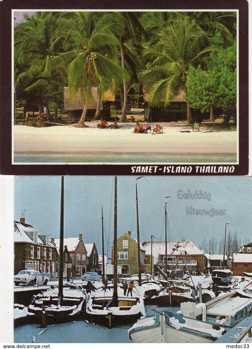 Lot + De 400 Cartes Etrangéres - 100 - 499 Postcards