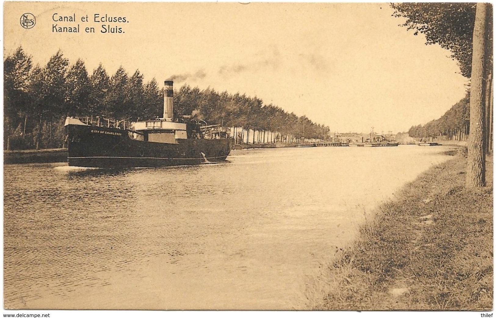 Cappelle-au-Bois NA6: Canal Et Ecluses 1928 - Kapelle-op-den-Bos