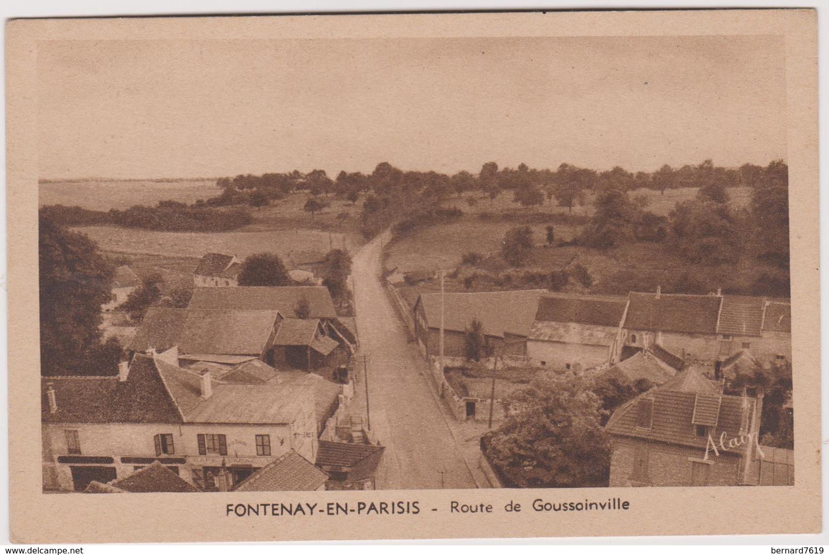 95  Fontenay En Parisis Route De Goussainville - Autres Communes