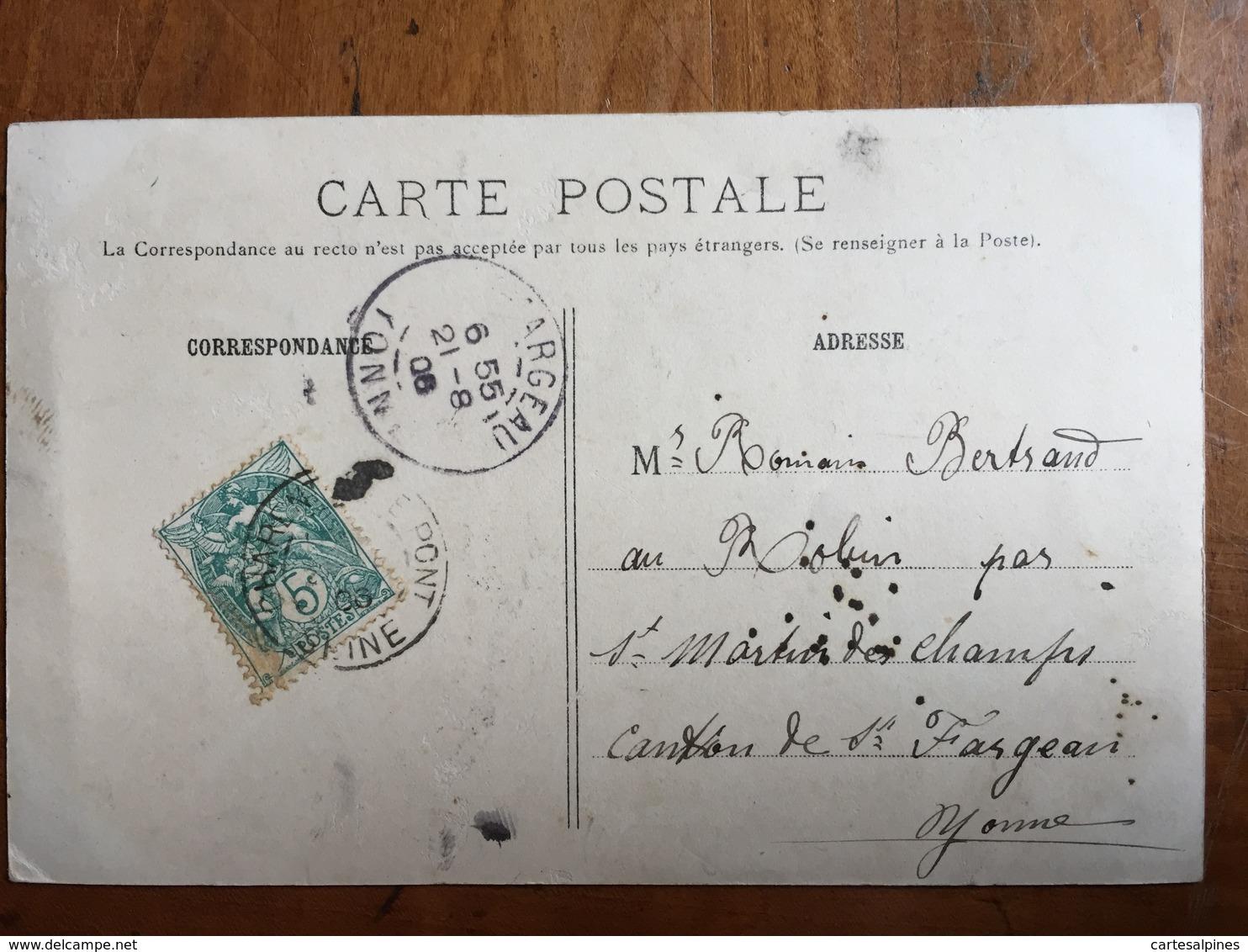 (94, Sport Nautique) CHARENTON: Les Joutes Lyonnaises. Carte Colorisée, 1906. TBE. - Charenton Le Pont