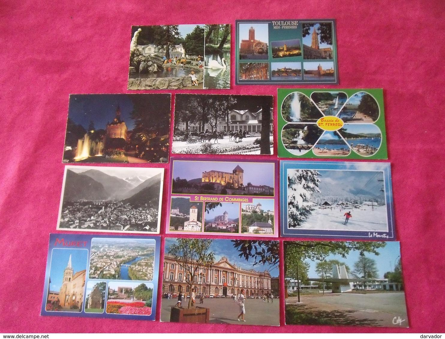 Carte Postale / Haute Garonne 31 / Lot De 11 Cartes - Unclassified