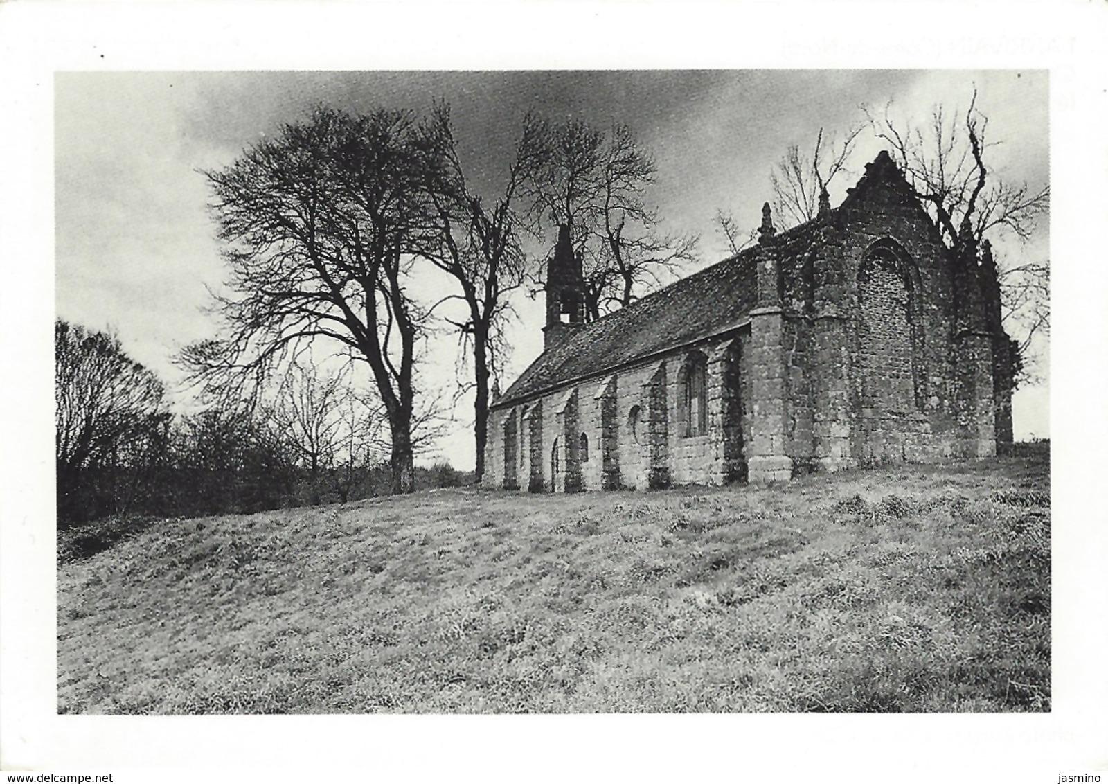 Lanrivain- Chapelle Saint- Antoine.Février 1989. - France