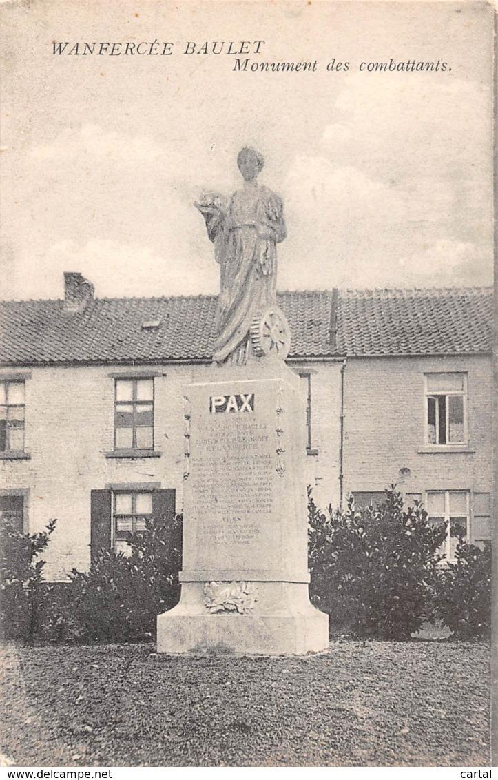 WANFERCEE BAULET - Monument Des Combattants - Fleurus