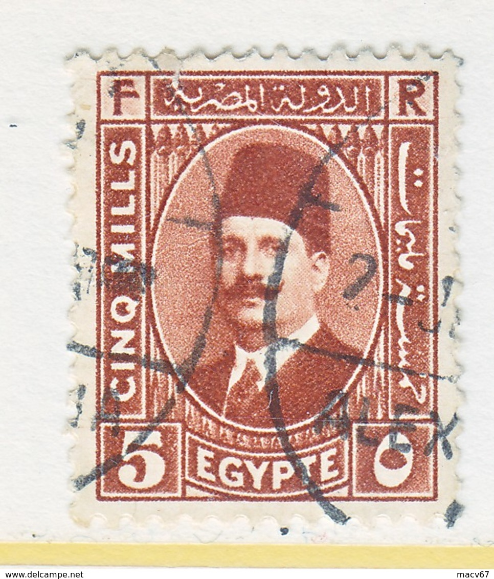 EGYPT  135    (o)   1927-37  Issue - Used Stamps